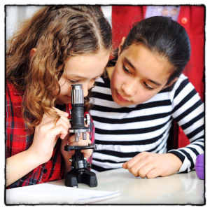Girls Microscope